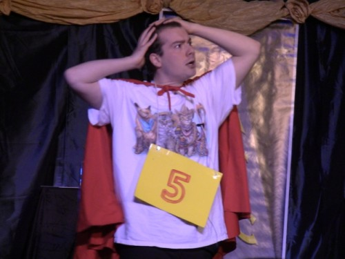 Gabriel Potter performing I'm Not That Smart from Spelling Bee at Damascus Theatre Company which was nominated for Outstanding Musical.