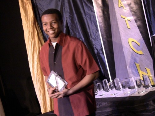 In a tie, Chaz Coffin was the winner of Outstanding Performance as a Featured Actor in a Musical for his role as Seaweed Stubbs in Hairspray at Little Theatre of Alexandria.