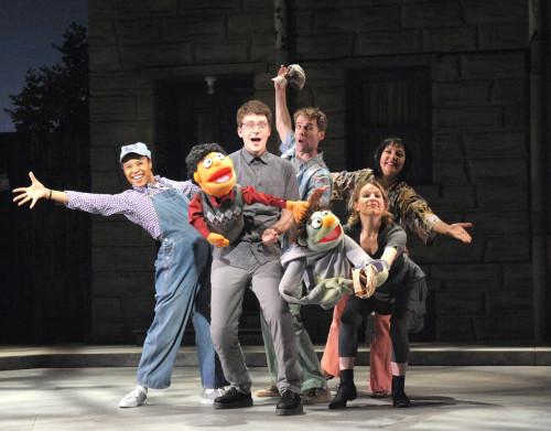 Cast of Olney Theatre Center's 'Avenue Q'  Photo: Stan Barouh