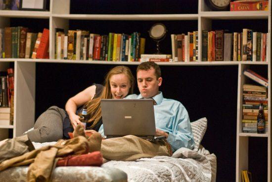Rachel Manteuffel and Matthew Sparacino. Photo by Brian Allard.
