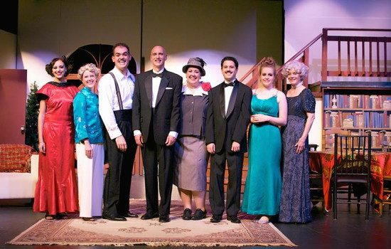 The cast of 'The Game's Afoot.' Photo by Toby Chieffo-Reidway/Irish Eyes Photography by Toby.