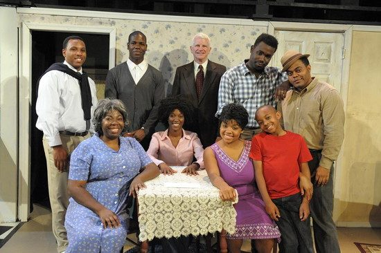 The cast of 'Raisin in the Sun.' Photo provided by Compass Rose Theater.