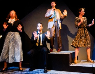 Theatre Review: 'Jacques Brel is Alive and Well and Living in Paris' at Creative Cauldron