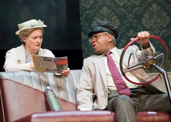Nancy Robinette and Craig Wallace in 'Driving Miss Daisy' at Ford's Theatre. Photo by Scott Suchman.