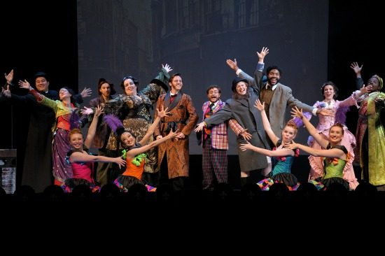 The cast of The Mystery of Edwin Drood. Photo by Beth Rado.