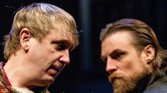 Jonas David Grey as Richard II and Patrick Kilpatrick as Henry Bollingbroke. Photo by Teresa Castracane Photography, LLC.