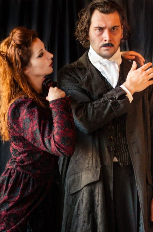 Theatre Review: 'Nightfall with Edgar Allan Poe' by Molotov Theatre Group at DC Arts Center