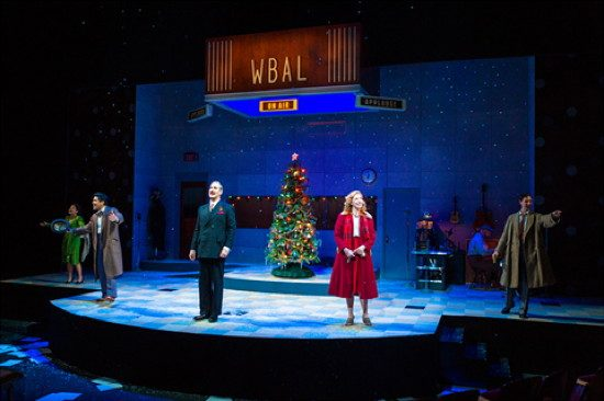 The cast of 'It's a Wonderful Life: A Live Radio Play.' Photo by Richard Anderson.