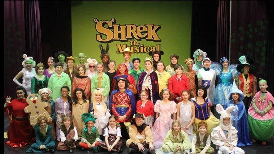 Theatre Review Shrek The Musical At Children S