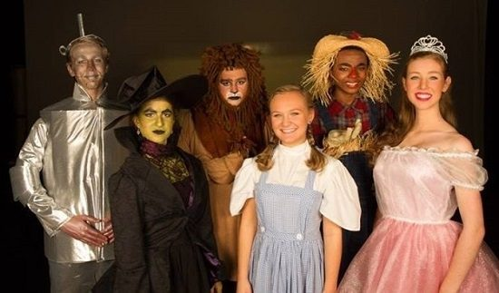 The cast of 'The Wizard of Oz.' Photo by Kathleen Ouellette.