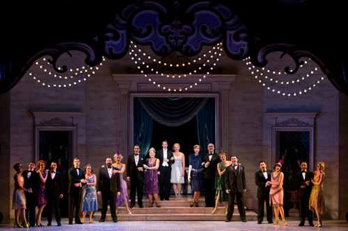 The touring cast of 'Nice Work If You Can Get It.' Photo by Jeremy Daniels.
