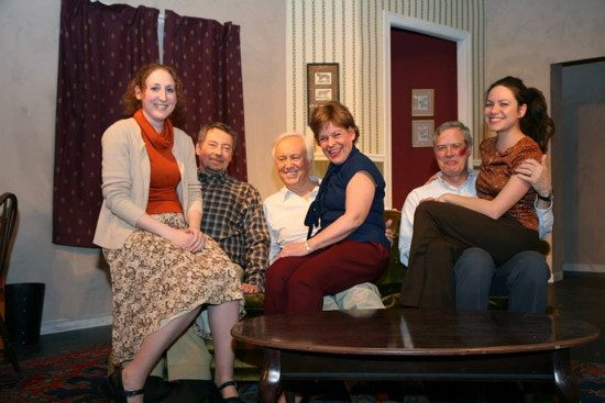 l to r: Laurie Simonds, John O'Leary, Peter Harrold, Susan Paisner, John Allnutt and Karen Romero.  Photo by J. Andrew Simmons.