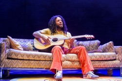 Mitchell Brunings as Bob Marley. Photo by Richard Anderson.