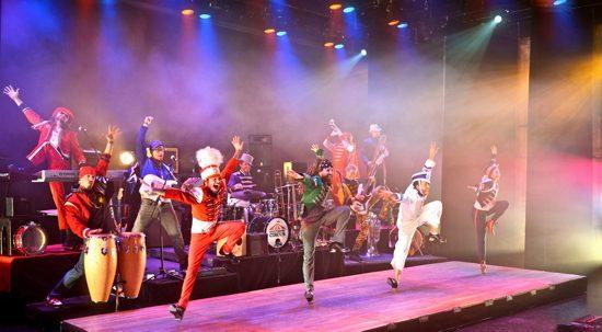 The cast of 'Feet Don't Fail Me Now!' Photo provided by Rhythmic Circus.