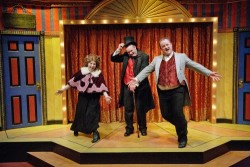 tracey stephens michael sharp and matthew a anderson as mr and - Broadway Christmas Shows