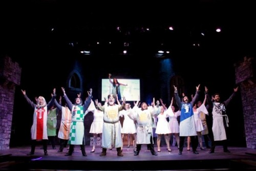The cast of 'Spamalot.' Photo courtesy of Port Tobacco Players.