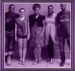 The cast of 'The Suicide Journals.' Photo courtesy of production.