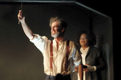 Chad Wheeler as Sweeney Todd and Kay-Megan Washington as Mrs. Lovett. Photo provided by Laurel Mill Playhouse.