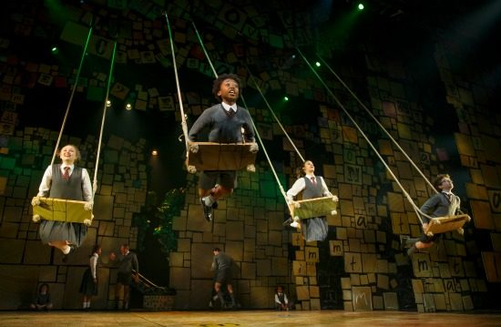 """When I Grow Up"" - The Company of Matilda The Musical National Tour. Photo by Joan Marcus."