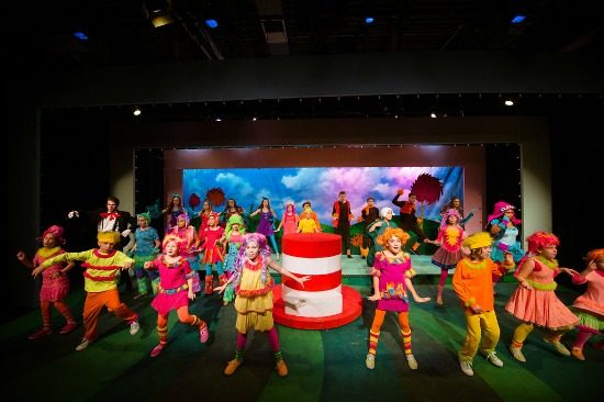 The cast of Seussical at NextStop Theatre. Photo by Traci J. Brooks Studios
