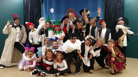 The cast of 'A Scalawags Christmas.' Photo provided by New Direction Community Theater.