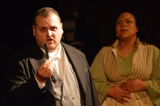 Kevin Diana and Taunya Ferguson. Photo by Oscar Alvarez.