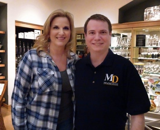 Country music superstar and bestselling cookbook author Trisha Yearwood with Publisher Mark Beachy!