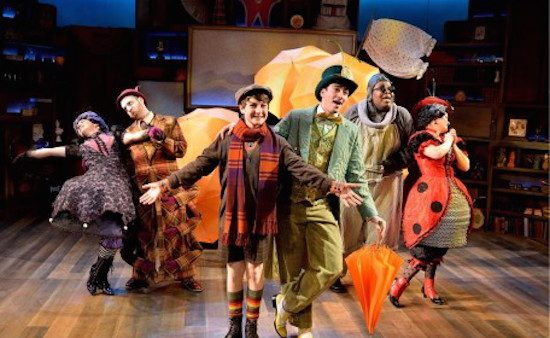 The cast of 'James and the Giant Peach.' Photo by Bruce Douglas.