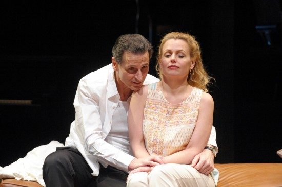 Paul Morella and Tonya Beckman. Photo by Stan Barouh.