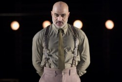 Faran Tahir as Othello. Photo by Scott Suchman.