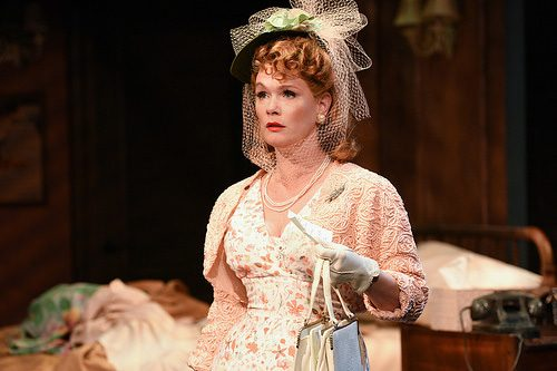 Beth Hylton as Blanche DuBois in 'A Streetcar Named Desire.' Photo by ClintonBPhotography.