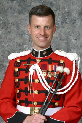 Master Sergeant David Murray. Photo courtesy of Marine Band Public Affairs.