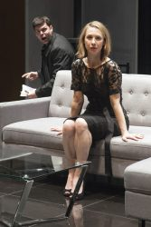 Avery Clark and Julia Coffey in Hedda Gabler at Studio Theatre. Photo: Allie Dearie.