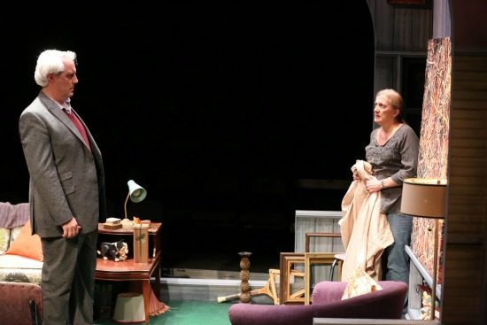 Michael Russotto and Donna Migliaccio in Bakersfield Mist at Olney Theatre Center. Photo Credit: Nick Griner