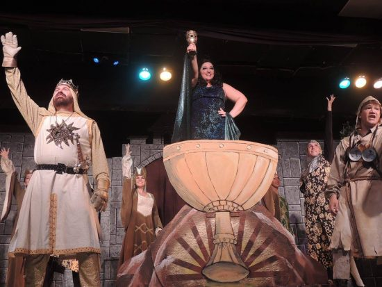 Theatre Review: 'Monty Python's Spamalot' at Way Off Broadway Dinner  Theatre | Maryland Theatre Guide