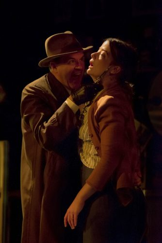 Bruce Randolph Nelson as Roat and Megan Anderson as Susan. Photo by ClintonBPhotography.