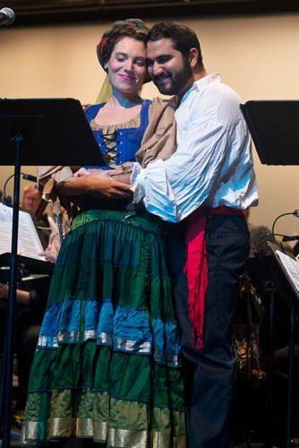 Alexandra Boule-Buckley and Rishabh Bajekal. Photo by Harvey Levine.
