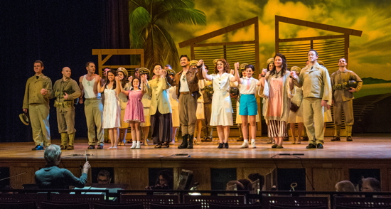 The cast of 'South Pacific.'
