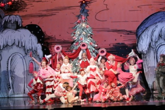 photo the 2014 touring company of dr seuss how the grinch stole christmas the musical at the national theatre through december 31 - How The Grinch Stole Christmas 2014