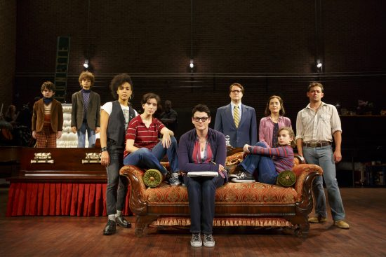 The National Tour Company of Fun Home, making its Washington, D.C., premiere at the National Theatre April 18 – May 13, 2017. www.thenationaldc.com Photo credit: Joan Marcus.