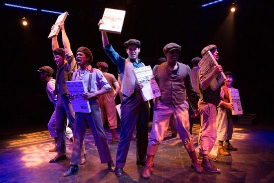 Theatre Review: 'Newsies' at Toby's Dinner Theatre