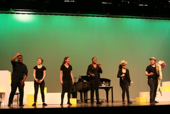 Cappies Review:  'A 16 Bar Cut: The History of American Musical Theatre' at Northwood High School Academy