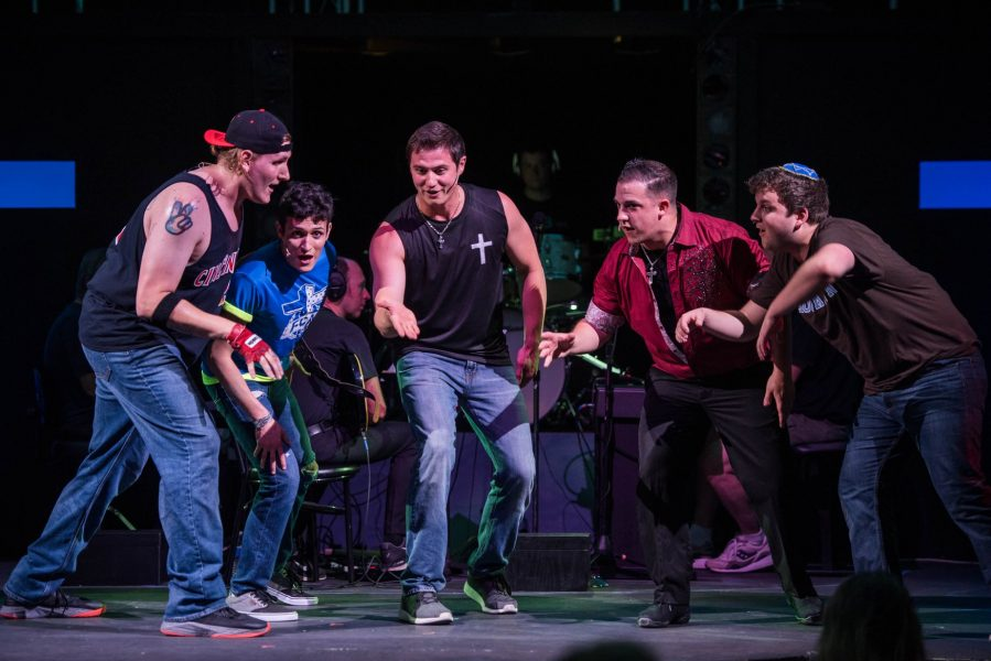 Theatre Review Altar Boyz At Annapolis Summer Garden Theatre Maryland Theatre Guide