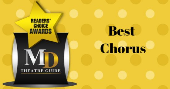 Voting Ballot: 'Best Chorus' as Part of MD Theatre Guide's Best of 2018 Readers' Choice Awards