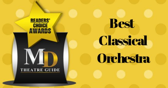 Voting Ballot: 'Best Classical Orchestra' as Part of MD Theatre Guide's Best of 2018 Readers' Choice Awards