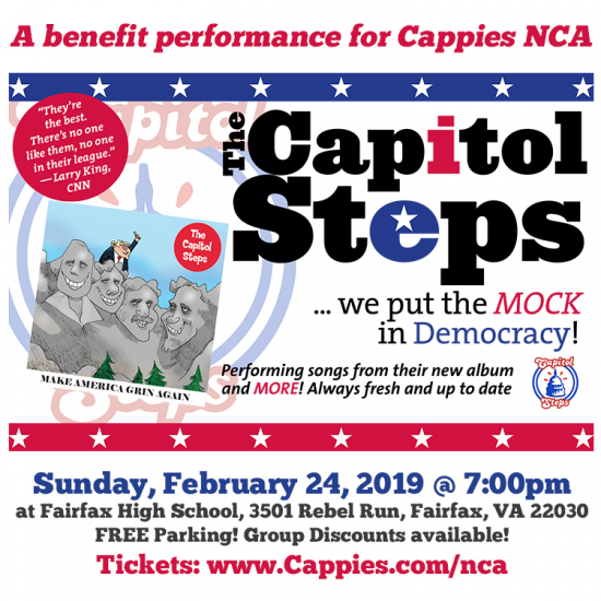 Theatre News: Cappies presents: The Capitol Steps Benefit Performance