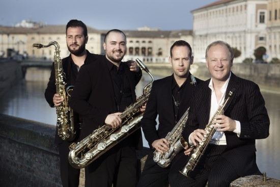 Music News: Candlelight Concert Society Presents Italian Saxophone Quartet performing 'La Dolce Vita' at Howard Community College