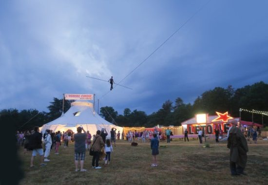 Arts Review: Columbia Festival of the Arts Presents 'David Dimitri L'homme Cirque-One-Man Circus' at Merriweather District