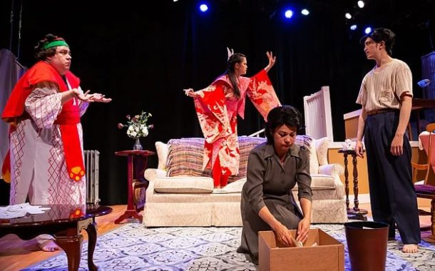 Theatre Review 'American Spies and Other Homegrown Fables' at The Hub Theatre