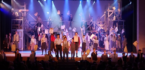 Theatre Review: 'Newsies' at Great Mills High School for St. Mary's Summerstock